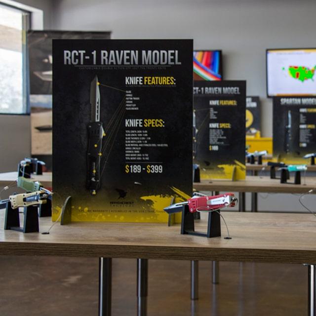 Inside RavenCrest Tactical Store Mesa