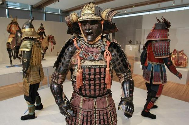 Japanese Samurai Armor Was Typically Made Up Of Many Small Parts And A Wide Variety Materials Steel Leather Wood Form The Protective