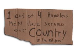HomelessVetSign