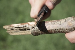 """101 Ways to use your Knife: #1 """"How to make a Spear"""
