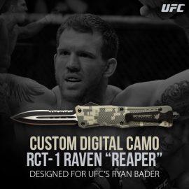 """Ryan Bader Custom Digital Camo RCT-1 Raven """"Reaper"""""""