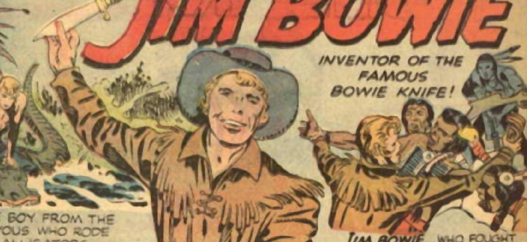 Jim Bowie Legend