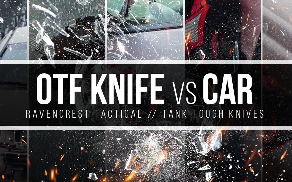 OTF Knife vs Car Torture Test