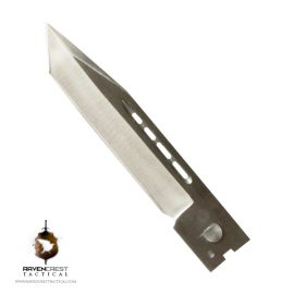 Full Size Tanto Non Serrated Satin Blade