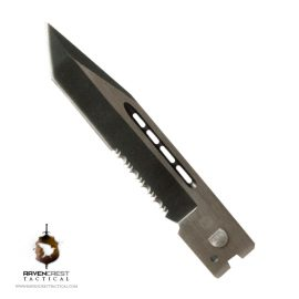 Tanto Serrated Blade