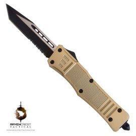 RCT-1 Raven Gold OTF Knife