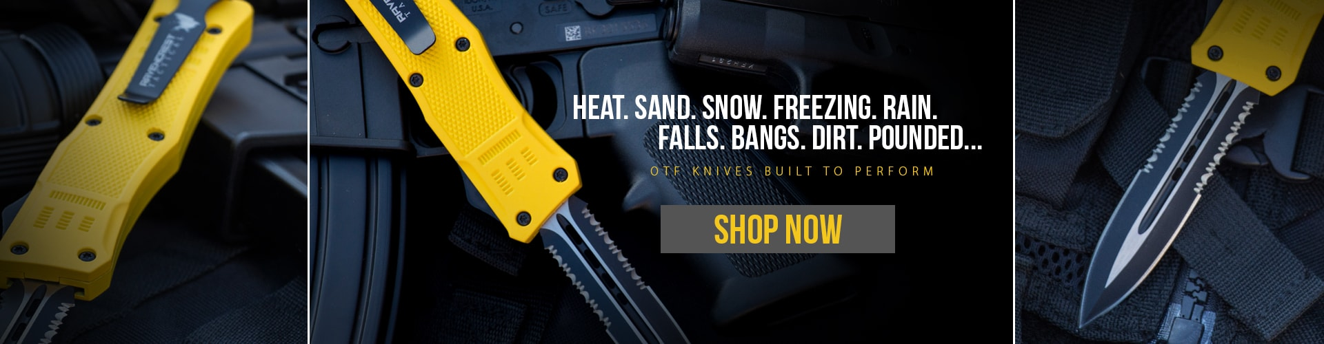 OTF Knives Built To Perform