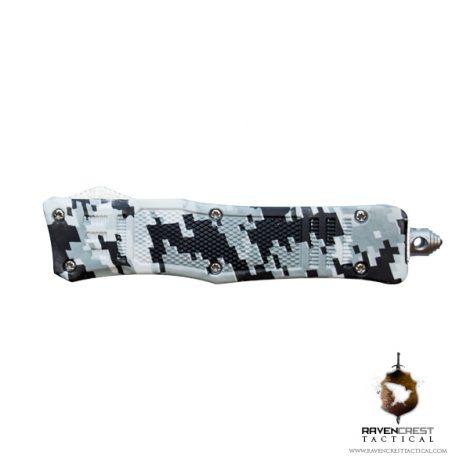 Mini RCT-1 Raven American Red OTF Knife