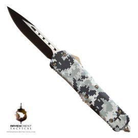 Titan Urban Digital Camo OTF Knife