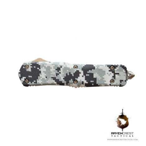 Titan Urban Digital Camo OTF Knife