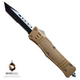 Bronze RCT-1 Raven OTF Knife