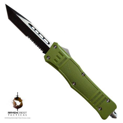 RCT-1 Raven OD Green OTF Knife