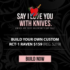 RavenCrest Tactical Valentine's Day Sale!