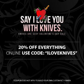 RavenCrest Tactical Valentines Day Coupon Code
