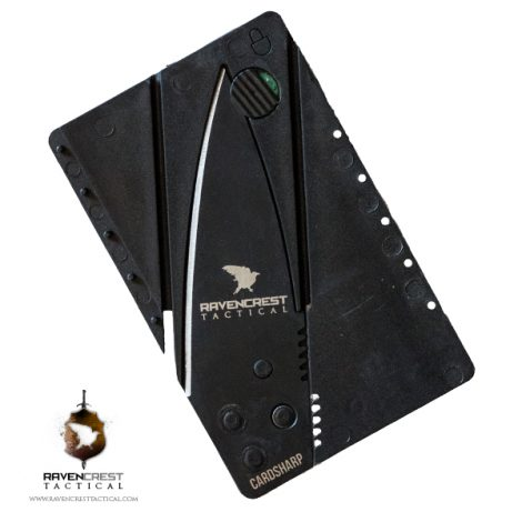RavenCrest Tactical Credit Card Knife