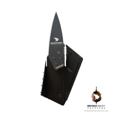 RavenCrest Tactical Credit Card Knife