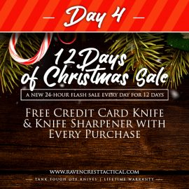 RavenCrest Tactical - 12 Days of Christmas Sale