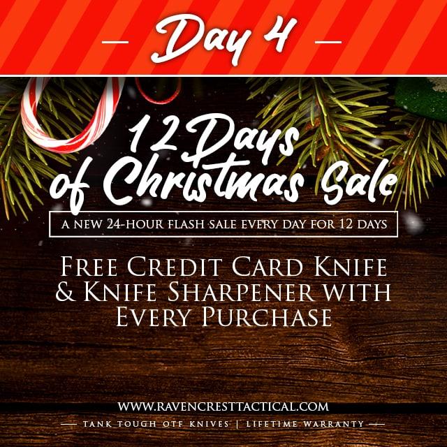RavenCrest Tactical - 12 Days of Christmas Sale