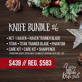 RavenCrest Tactical - Knife Bundle 6