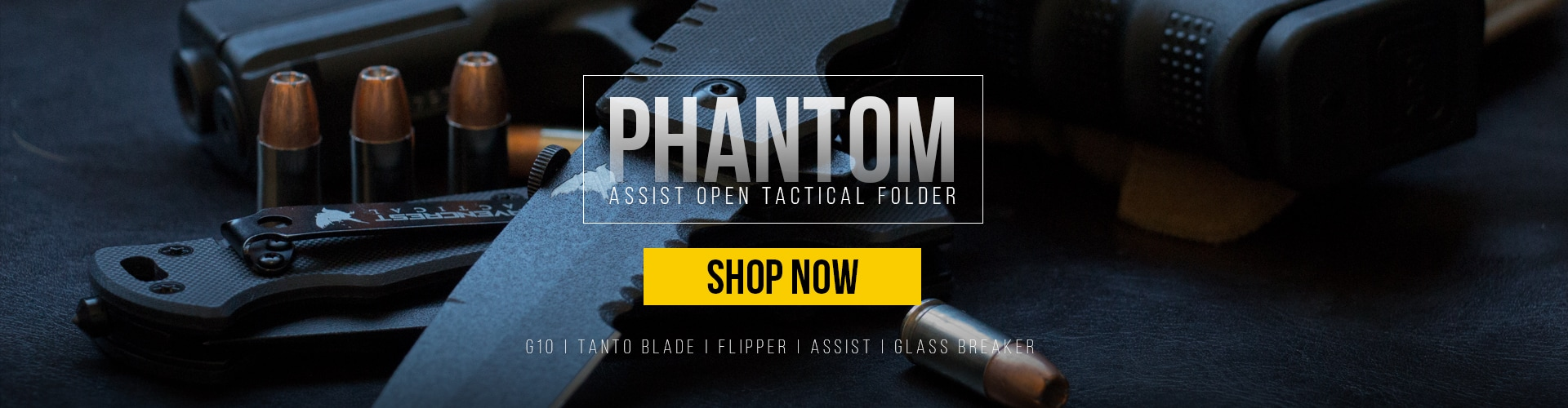 RavenCrest Tactical - Phantom Assist Open Tactical Folder