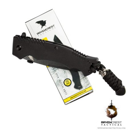 RavenCrest Tactical Phantom Assist Tactical Folding Knife