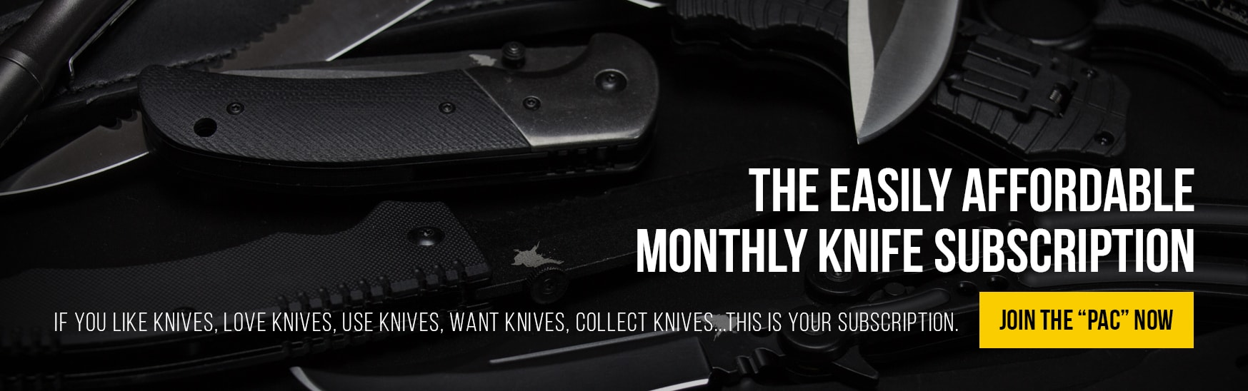 RavenPac Monthly Knife Subscription