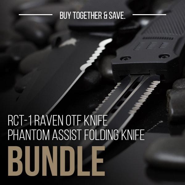 RavenCrest Tactical - RCT-1 Raven and Phantom Assist Knife Bundle