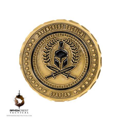 Spartan Challenge Coin