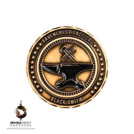 RavenCrest Tactical - Black Smith Challenge Coin