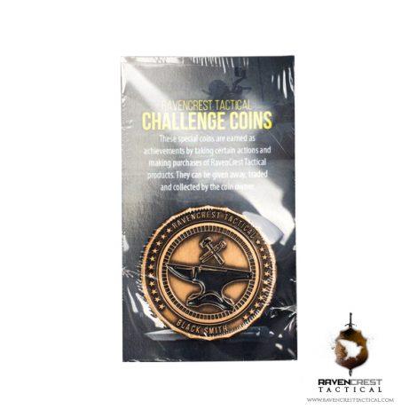 RavenCrest Tactical - Black Smith Challenge Coin
