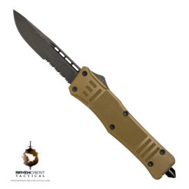FDE Cerakote Raven Oxide Drop Point