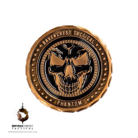 RavenCrest Tactical - Phantom Challenge Coin