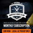RavenCrest Tactical - RavenPac Monthly Knife Club AZ Pick Up Only