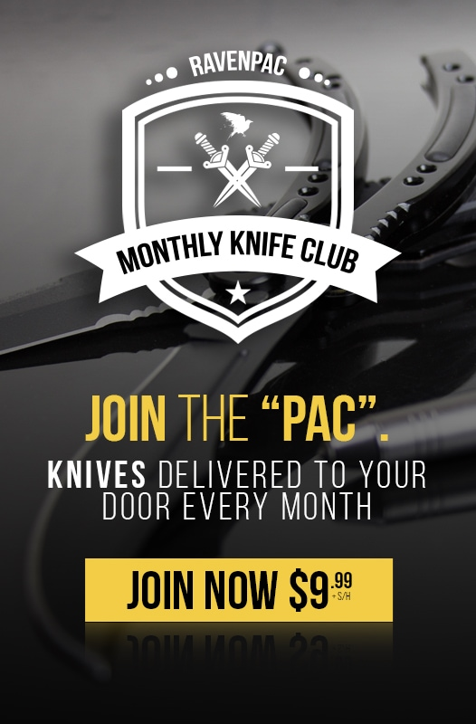 RavenCrest Tactical - Join The RavenPac Knife Club
