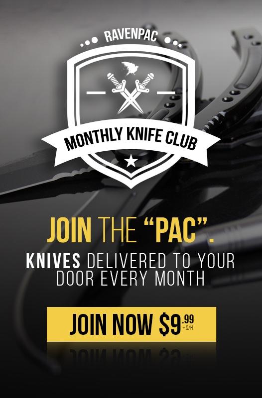 RavenCrest Tactical - Join The RavenPac Knife Club