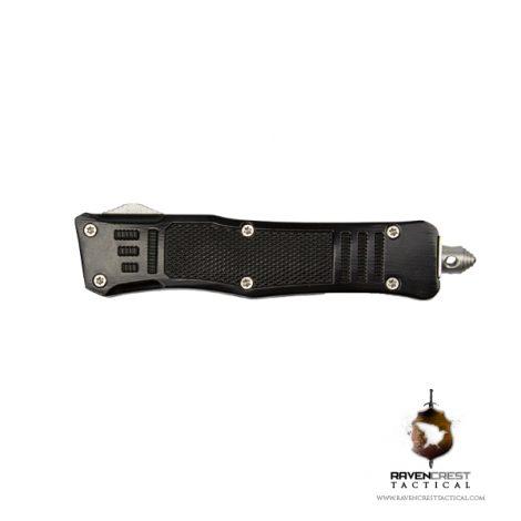 Cerakote Mini RCT-1 Raven OTF Knife Black