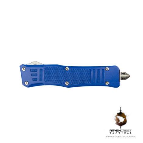 Cerakote Mini RCT-1 Raven OTF Knife Blue