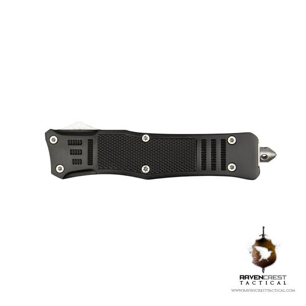 Cerakote RavenCrest Tactical RCT-1 Raven OTF Knife Black