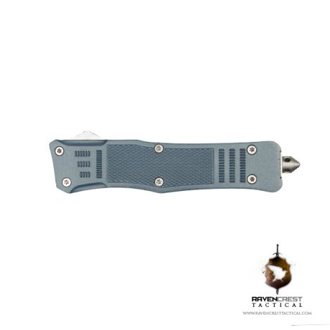 Cerakote RavenCrest Tactical RCT-1 Raven OTF Knife Blue Titanium