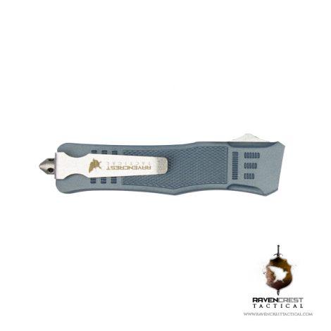 Cerakote RavenCrest Tactical RCT-1 Raven OTF Knife Blue Titanium
