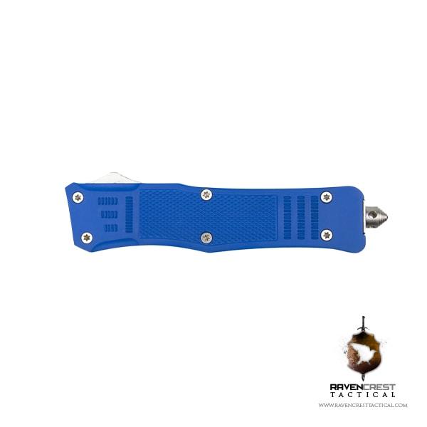 Cerakote RavenCrest Tactical RCT-1 Raven OTF Knife Blue