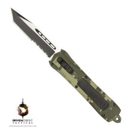 RavenCrest Tactical Digi Camo Spartan OTF Knife
