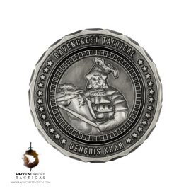 Genghis Khan RCT Challenge Coin