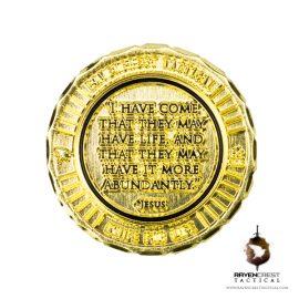 Jesus RCT Challenge Coin