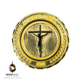Jesus RCT Challenge Coin