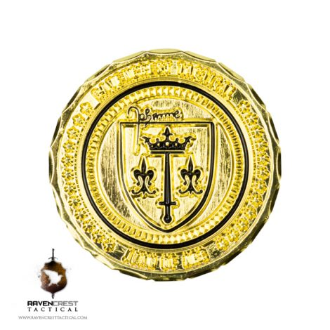 Joan of Arc RCT Challenge Coin