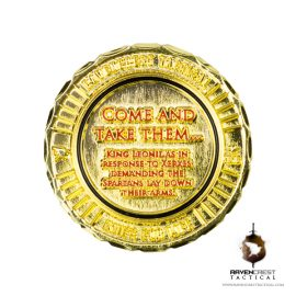 King Leonidas RCT Challenge Coin