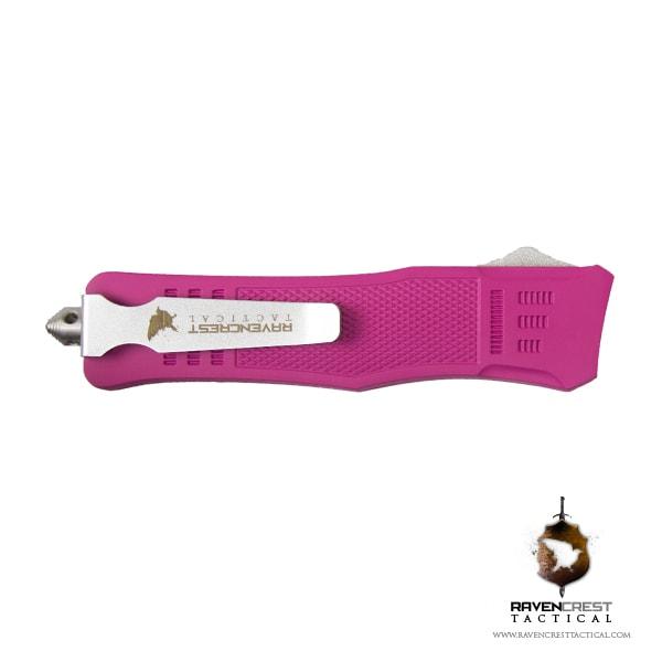 Cerakote Pink RCT-1 Raven OTF Knife