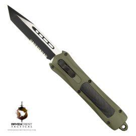 Cerakote Spartan Mil Spec OD Green OTF Knife