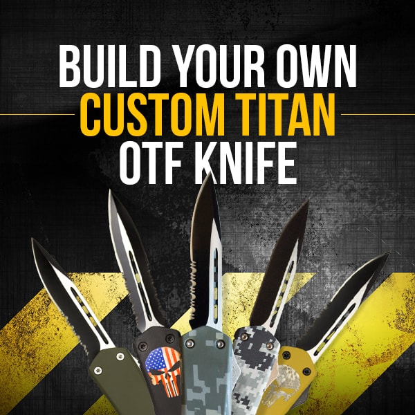 Build Your Own Titan Bravo Custom Tactical Otf Knife